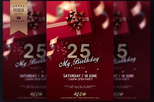Birthday Invitation / Flyer