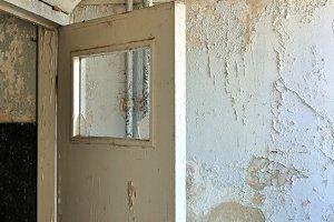 Door Peeling Wall