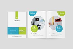 A5 Magazine / Brochure Mock-Ups
