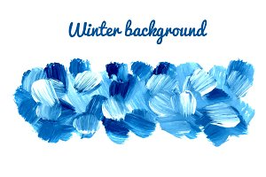 Seamless winter vector backgrounds