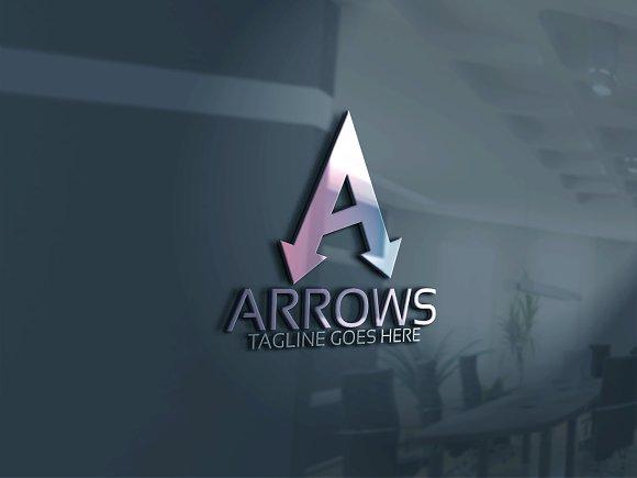 Arrows Logo / A Letter Logo