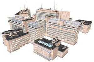 Modern Building Set