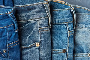 Pockets of jeans