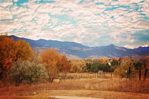 Autumn In the Colorado Foothills