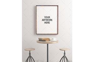 Poster Frame Mockup Minimal