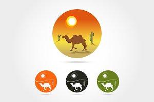 desert logo icon