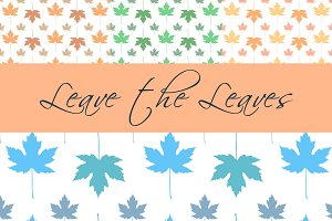 Leave the Leaves Pattern