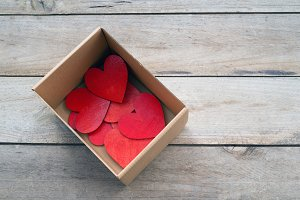 The box of hearts