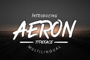 Aeron Typeface