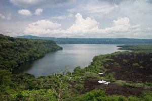 Masaya lagoon from Nicaragua
