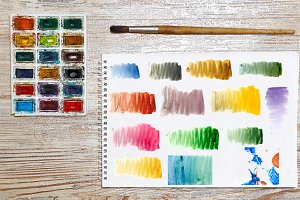 Watercolor abstract background 14JPG