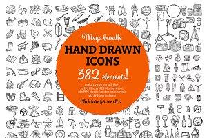 382 Sketch Icons Set!