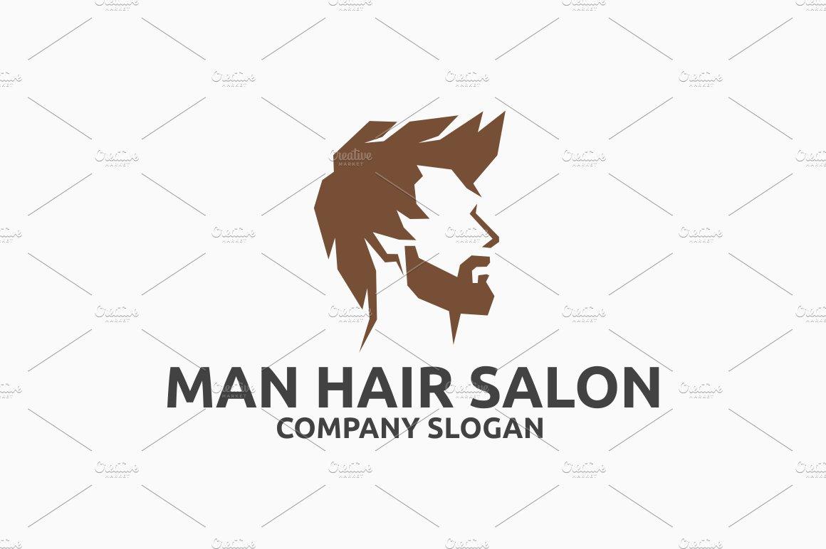 Ideal Man Hair Salon ~ Logo Templates ~ Creative Market XV99