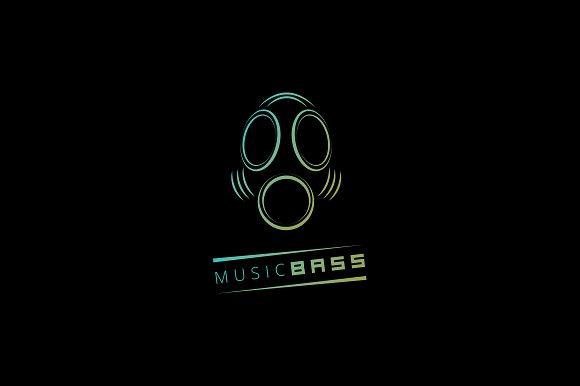MusicBass Logo Template