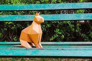 DIY CAT model - 3d papercraft