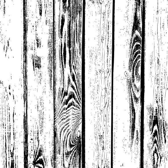 Wooden Planks Vector Texture