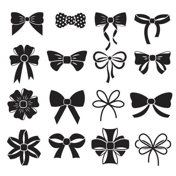 Holiday Gift Christmas Bows