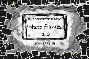 Vector photo frames Pack Version 1.2