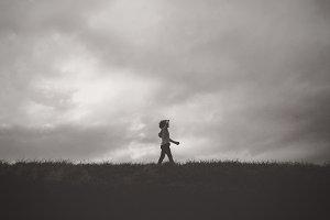 A Little Boy on a Search