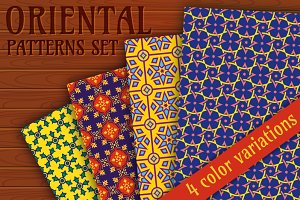 Oriental patterns collection