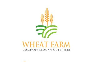 Wheat Farm Logo