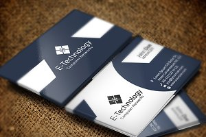 E Technology Business Card