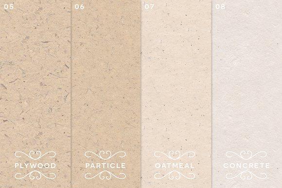 8 handmade paper patterns textures creative market