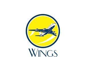 Wings International Travel Logo