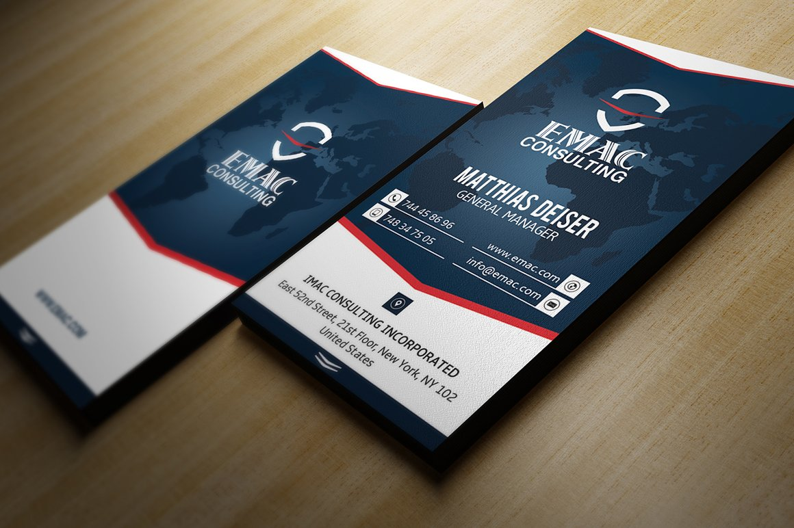 Clean Business Card ~ Business Card Templates ~ Creative Market