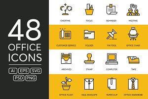 48 Office Icons