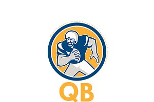 QB Quality Football Equipment Logo