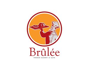 Brulee French Bakery Logo