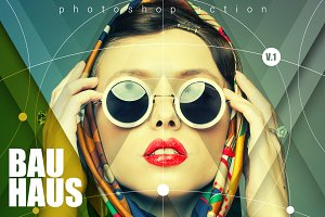 Bauhaus Photoshop Action V.1