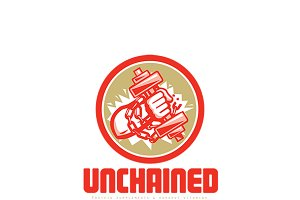 Unchained Protein Supplements Logo