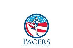 Pacers Marathon Runners Forum Logo