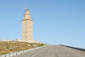 Tower of Hercules, Galicia, Spain.