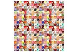 Circles Tiled Pattern
