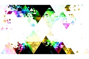 Triangles in Textured Spectrum Color