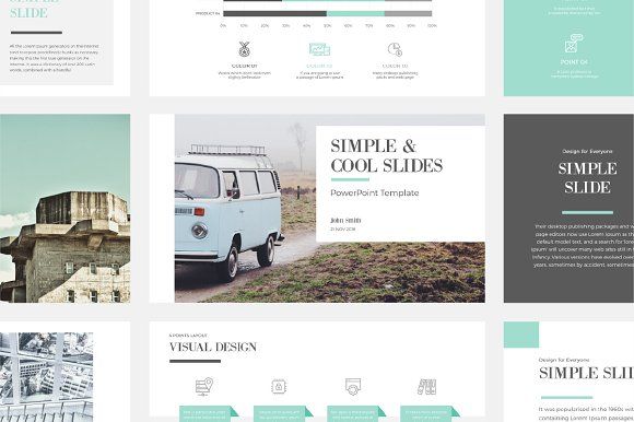 Simple Cool Point Template Templates Creative Market