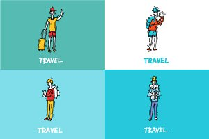 People travel-ling