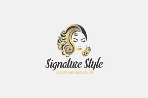 Beauty & Hair Logo