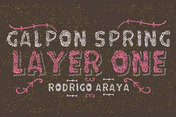 Galpon Spring Layer ONE Shadow-50%