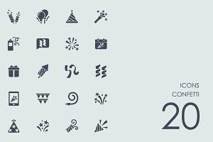 Сonfetti icons