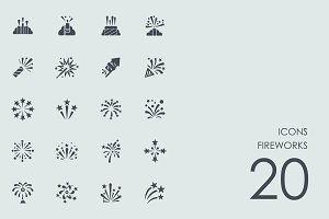 Fireworks icons