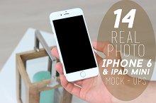 14 Real Photo iPhone 6 Mock-ups