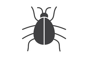 Beetle icon. Vector
