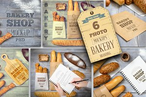 Bakery Mockup