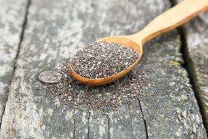 Nutritious chia seeds