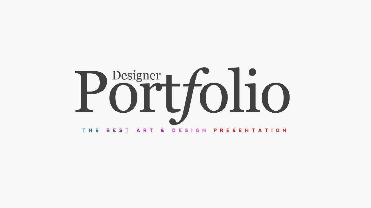 Portfolio Magazine PowerPoint ~ Presentation Templates
