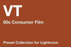VT: 80s Consumer Film Preset Pack